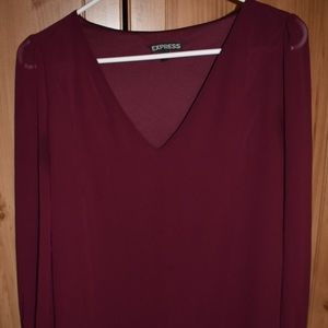 Express long sleeved top